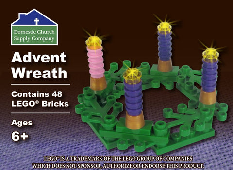 Advent Wreath with LEGO® Bricks