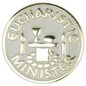 Eucharistic Minister Label Pin