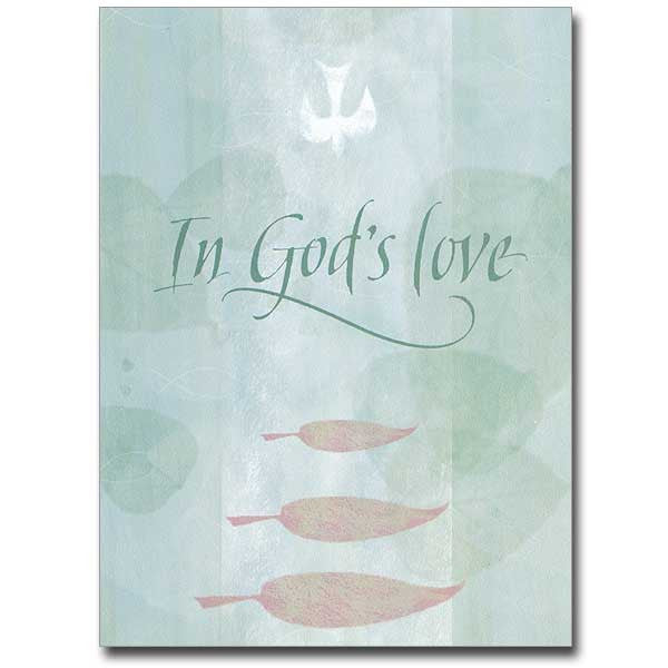 In God'S Love Serious Illness Card