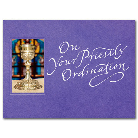 On Your Priestly Ordination Priest Ordination Card