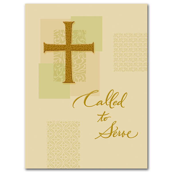 Called To Serve Ordination Card (Any Denomination)