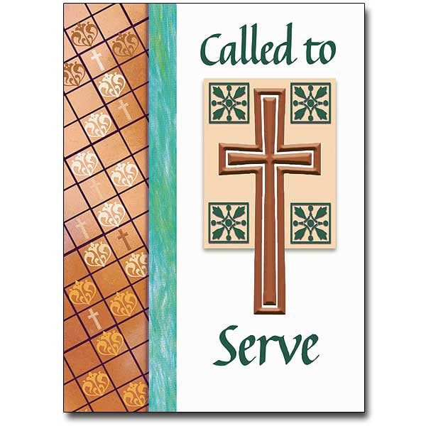 Called To Serve Ministry Card