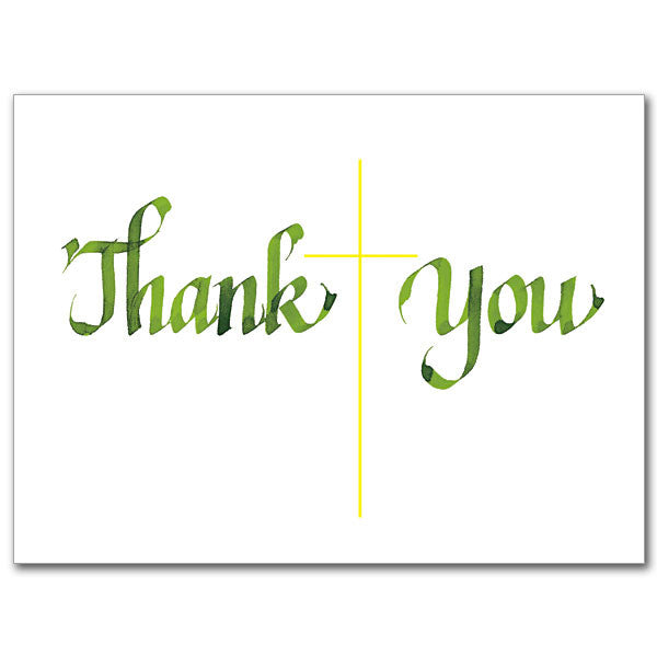 Thank You/Blank Inside Thank You Card