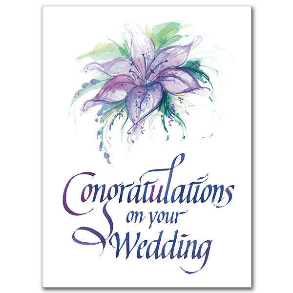 Wedding Gift Card Sayings: Congratulations On Your Wedding Card