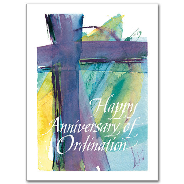 Happy Anniversary of Ordination Anniversary Card