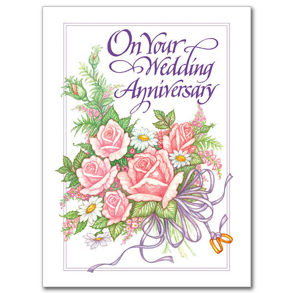 On Your Wedding Anniversary Wedding Anniversary Card