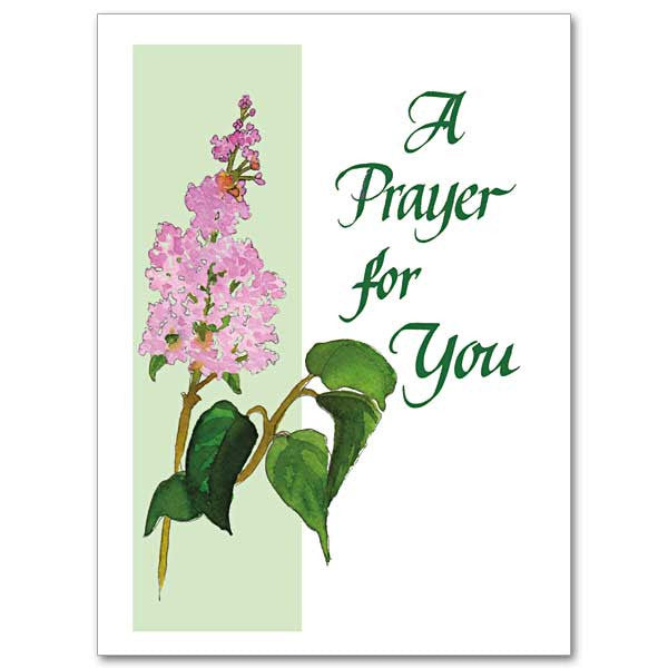 A Prayer For You Encouragement/Praying Card