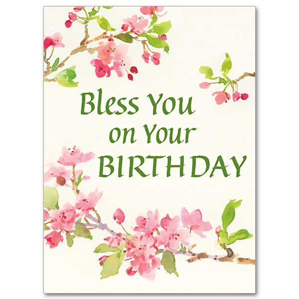Bless You On Your Birthday Birthday Card