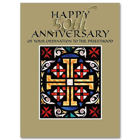 Happy 50th Anniversary of Your Ordination To The Priesthood