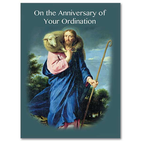 On the Anniversary of your Ordination Card