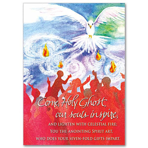 Come Holy Ghost  Confirmation Card