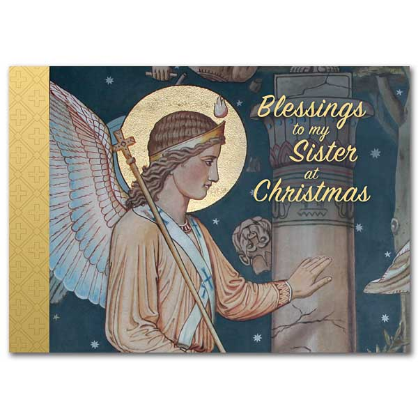 Blessings to My Sister at Christmas:  Christmas Card for Sister