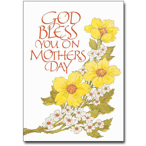 God Bless You On... Mothers Day Card