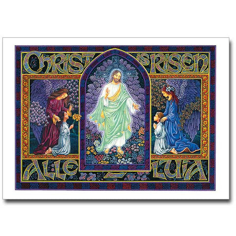 Christ Is Risen-Alleluia Easter Card