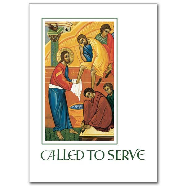 Called To Serve Ordination Card