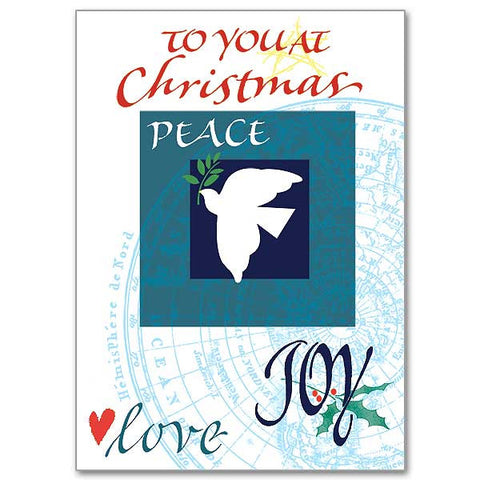 To You At Christmas Service Person Christmas Card
