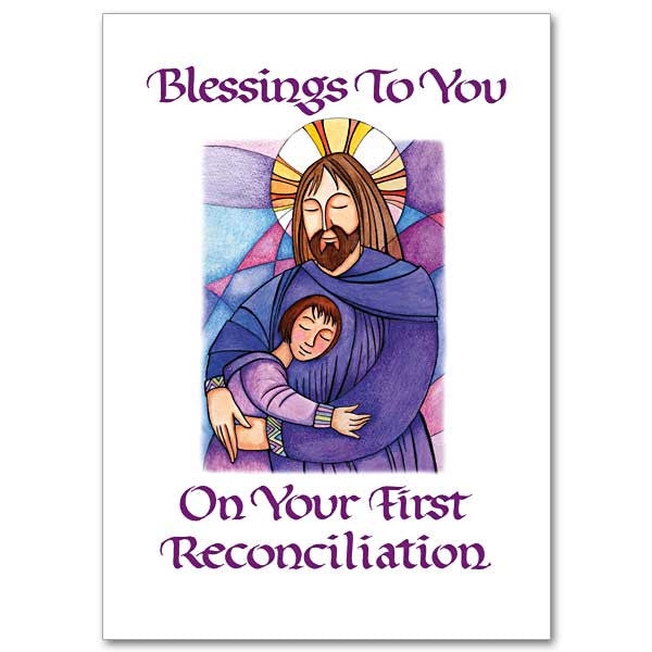 Blessings To You On Your... First Reconciliation Card