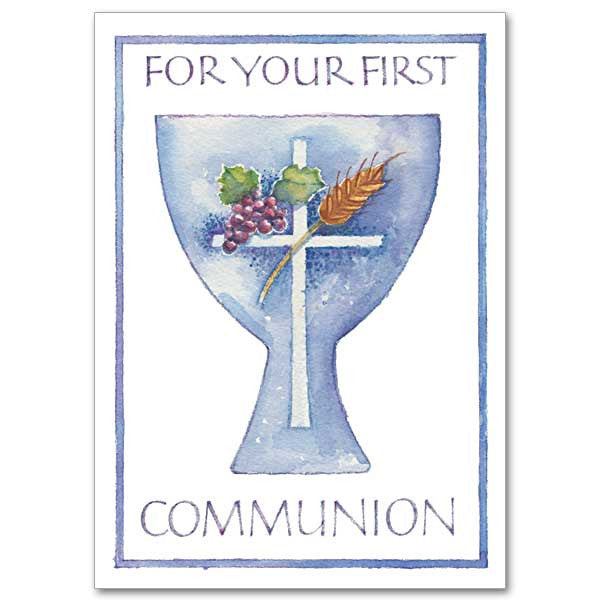 For Your First Communion First Communion Card
