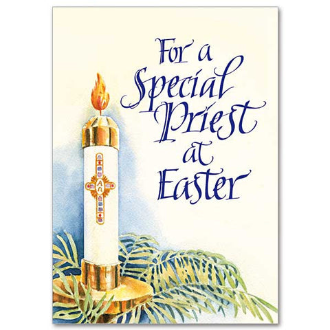 For A Special Priest At Easter Easter Card For Priest