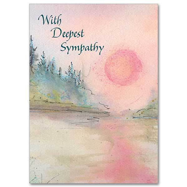with deepest sympathy sympathy card st cloud book shop - Deepest Sympathy Card
