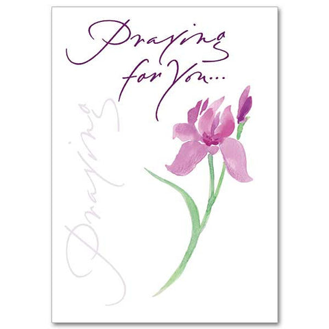 Praying For You Encouragement/Praying Card
