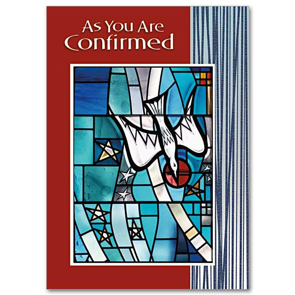 As You Are Confirmed Confirmation Card
