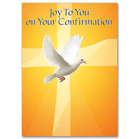 Joy To You On Your Confirmation Card