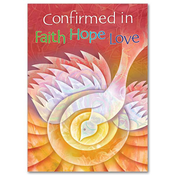 Confirmed In Faith Confirmation Card