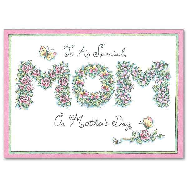 To A Special Mom Mothers Day Card