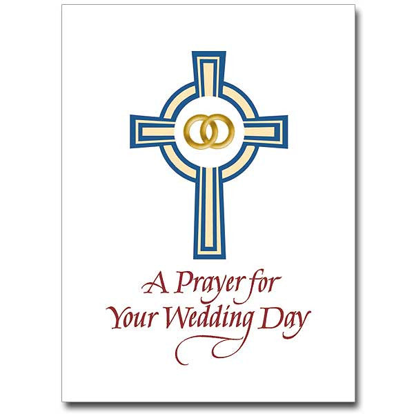 A Prayer For Your Wedding Day Wedding Congratulations Card