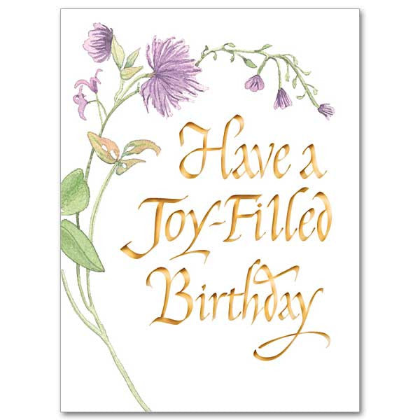 Have A Joy Filled Birthday Birthday Card