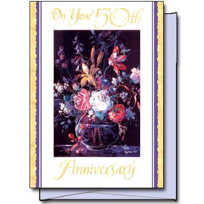 On Your 50Th Anniversary General 50Th Ann Card