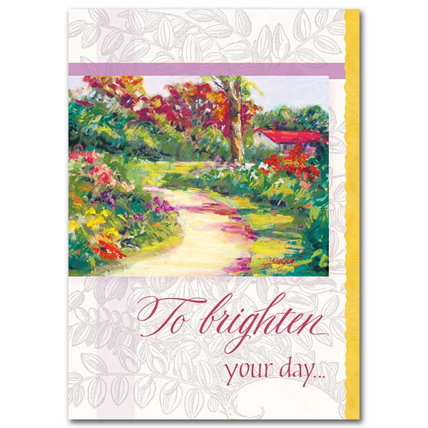 To Brighten Your Day Get Well Card