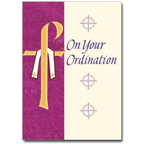 On Your Ordination Card