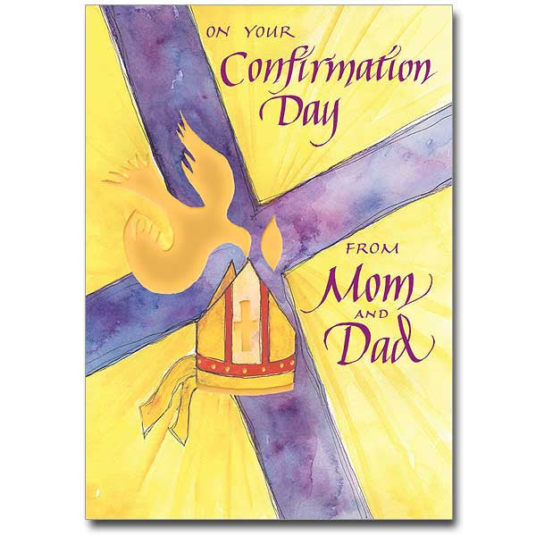 On Your Confirmation Day Confirmation From Mom & Dad