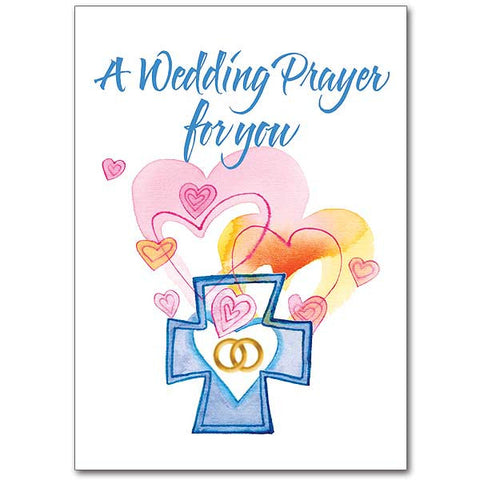 A Wedding Prayer For You Wedding Congratulations Card