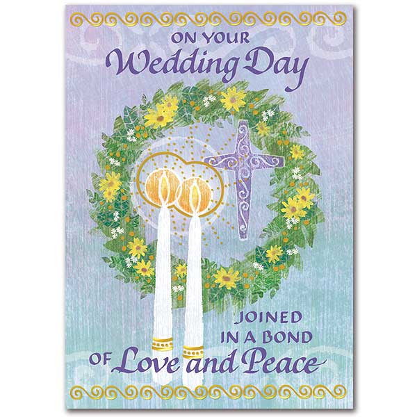 On Your Wedding Day Wedding Congratulations Card