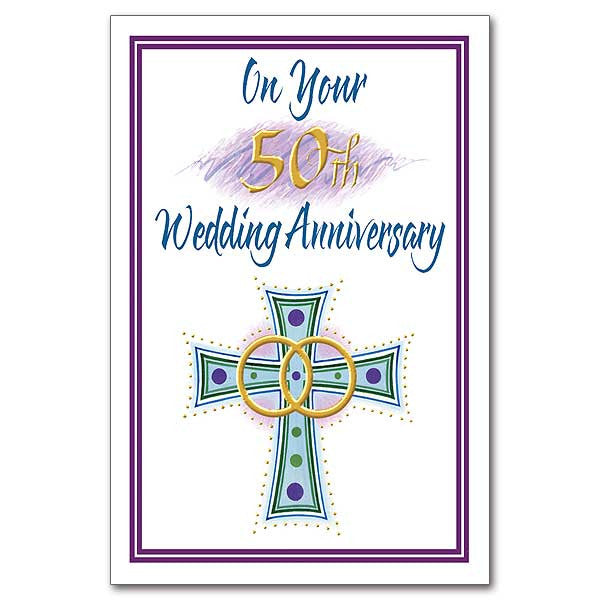 On Your 50Th Wedding Anniversary 50Th Wedding Anniversary Card