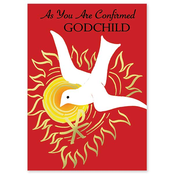 As You Are Confirmed, Godchild, Godchild Confirmation Congratulations