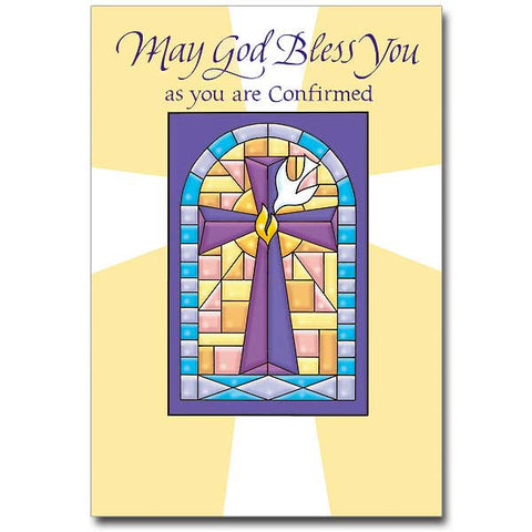 May God Bless You As You Are... Confirmation Card