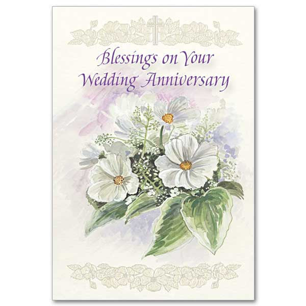 blessings on your wedding anniv wedding anniversary card - Wedding Anniversary Cards