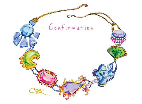 Confirmation Necklace Card