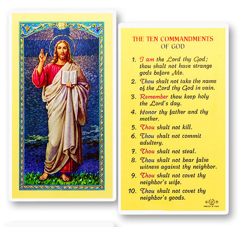 The Ten Commandments - Christs