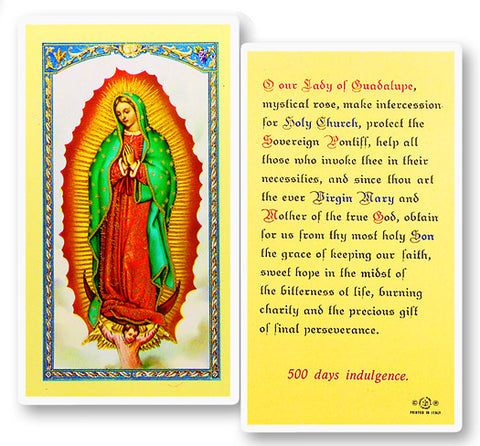 Prayer To O.L. Of Guadalupe