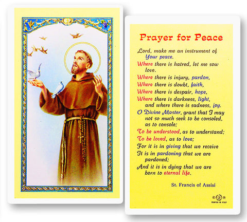 St. Francis - Prayer For Peace
