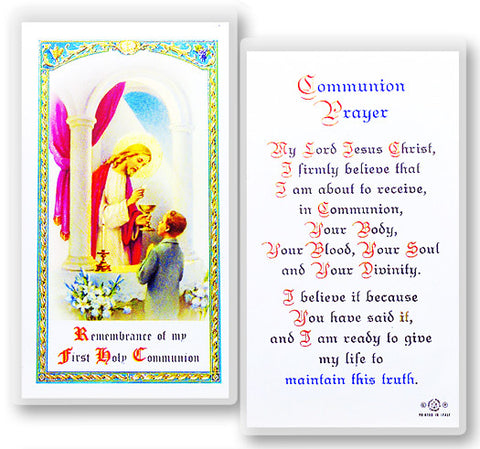 Communion Boy - Popular Prayer