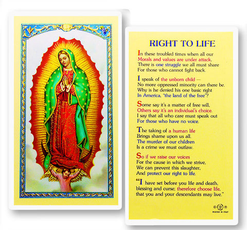 Our Lady of Guadalupe - Right To Life