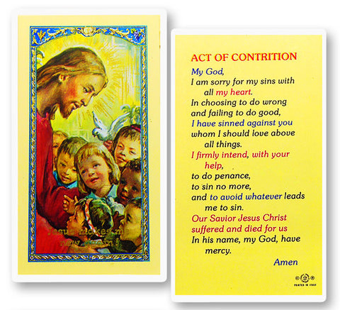 Act Of Contrition - Christ Kids