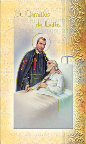 Biography Of St Camillus Of