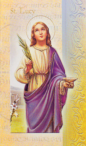 Biography Of St Lucy
